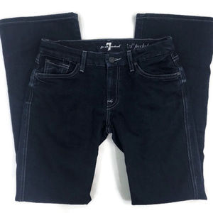 7 For All Mankind Dark Blue A Pocket Jeans